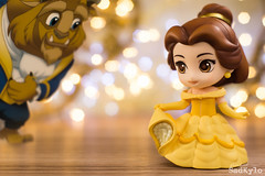 Tale as old as time (Sabrina Franzoni) Tags: disney nendoroid doll belle beautyandthebeast abelaeafera movie classic bokeh toys toyart toyphotography figure collection japan goodsmilecompany goodsmile gsc cute sadkylo