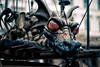 Christmas Market Dragon (ThomasG.) Tags: 2017 fuji fujifilm xe2s munich marionette dragon christmasmarket xf35mmf14r