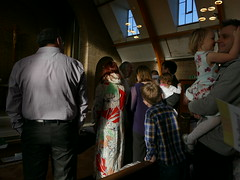 """""""I do love you Daddy"""" (amy's antics) Tags: people christening church"""