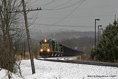 Allegheny Valley Railroad EMD GP40-3 4004 (Harry Gaydosz) Tags: trains railroads locomotives pa pennsylvania bprr buffalopittsburgh avr alleghenyvalleyrailroad swp southwestpennsylvaniarailroad we wheelinglakeerie avr4001 avr05