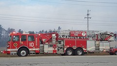 Ladder 10 (Central Ohio Emergency Response) Tags: columbus ohio fire division truck ladder tower platform sutphen