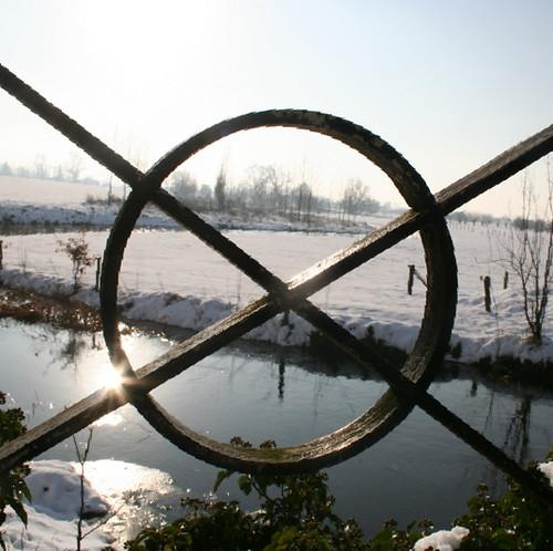 Poekebeekvallei in de winter