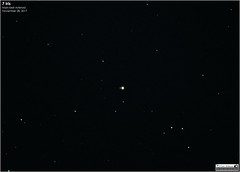 """7 Iris - Main-belt Asteroid (LeisurelyScientist.com) Tags: tomwildoner iris asteroid mainbelt mba november 2017 solarsystem space outerspace astronomy astrophotography astronomer night sky deepsky """"outerspace"""" meade telescope lx90 celestron cgemdx asi190mc zwo science canon """"canon6d"""" """"deepspace"""" guided weatherly pennsylvania observatory """"darksideobservatory"""" stars star"""