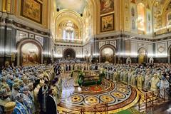 014. Торжественное богослужение в Храме Христа Спасителя 04.12.2017