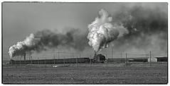 Working Hard (Welsh Gold) Tags: js8414 js8366 er jing colliery coal empties train desert sandaoling xinjaing province china