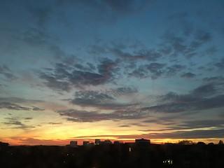 December sunset, view from Georgetown toward Rosslyn, Washington, D.C.