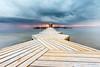 Mar Menor (Juan Galián) Tags: water agua amanecer landscape litoral paisaje playa murcia mar marmenor mediterráneo marina nubes sea