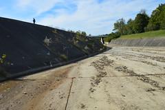 Looking down the Cowan Lake spillway (Kyle Hartshorn) Tags: unitedstates northamerica ohio clintoncounty cowanlake cowanlakestatepark ohiostateparks