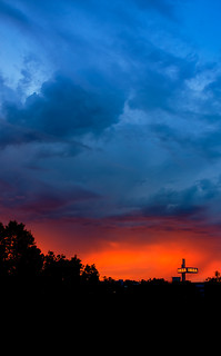 Robert Emmerich - 78 HDR Silhouettes during a stormy sunset in Berlin Spandau - Germany