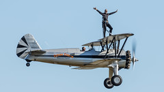 Flying Circus Wing Walker-4 (4myrrh1) Tags: flyingcircus flying flight circus wingwalker culpeper virginia va 2017 aircraft airplane aviation airshow canon 7dii ef100400l