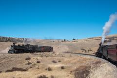 Approaching Osier (std70040) Tags: k27 k36 cumbresandtoltec cumbrestoltec denverriogrande denverandriogrande steam steamlocomotive steamengine steamtrain colorado