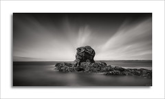Crozon -  Bretagne (David Jonck) Tags: fineart france 24mm framed nikon leefilters blackwhite outdoor bretagne sea 2470mm crozon presquîledecrozon granite longtimeexposure monochrome longexposure landscape frankrijk tiltshift bw seascape d750 davidjonck 2017
