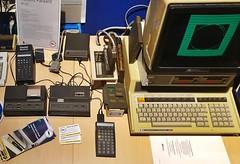 HP 41c Taschenrechner mit Peripherie (1979) (stiefkind) Tags: vcfb vcfb2017 vcfb17 vintagecomputing hp41c hp 41c