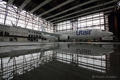 UTair's new livery (Artyom Anikeev) Tags: avia aviation airplane artyomanikeev anikeev airliner planespotting spotting canon vnukovo vko uuww boeing b737 utair livery