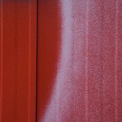 werke anonymer kollektive (zeh.hah.es.) Tags: hardstrasse baustelle constructionsite bauwagen zurich zürich rot red weiss white vertikal vertical sprayer schweiz switzerland kreis5 hardbrücke schwarz black