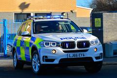 LJ66 EYA (S11 AUN) Tags: durham constabulary bmw x5 anpr police armed response arv roads policing unit rpu 999 emergency vehicle policeinterceptors lj66eya