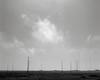 Antenna Array, Point Reyes, 2000 (austin granger) Tags: antenna antennae pointreyes signals radio kph topography evidence transmission pointreyesnationalseashore field film pentax67
