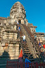 Steep stairs to the central tower R1009362 Angkor Wat (Recliner) Tags: khmer cambodia kampuchea