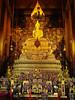 Thai Buddha (FotoGrazio) Tags: asian bangkok buddha buddhism buddhist goldenbuddha statue thai thailand waynegrazio waynesgrazio belief composition detail faith fineart fotograzio gold golden lotusposition meditation nirvana ornate religion religiousrelic sacred temple tourism