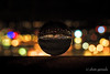 Stuttgart by Night in a Crystal Ball (gporada) Tags: stuttgart bynight nightly germany crystalball kristallkugel night fujian cctv fujian1635mm olumpusomdem10markii olympus mft microfourthirds nightshot bokeh