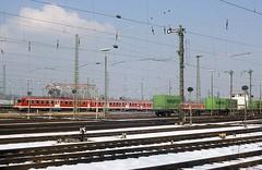 624 631  Karlsruhe Rbf  26.02.05 (w. + h. brutzer) Tags: karlsruherbf eisenbahn eisenbahnen train trains deutschland germany railway triebwagen triebzug triebzüge zug db 624 634 webru analog nikon vt