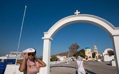 Oia- Santorin (alexanderferdinand) Tags: griechenland santorin architektur naomi greece santorini canoneos5dmarkiv ef2470mmf28liiusm oia saintgeorgchurch