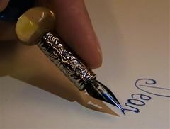 Dear... #Macro Monday #MM (ryorii) Tags: finger ink nib pen funny fun macro macromonday monday macrophoto fingertips 13nov