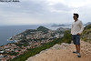 View over Dubrovnik from Mount Srd