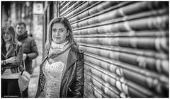 Brick Lane - Priscilla's bride workshop 4 (jerry_lake) Tags: 11nov2017 bricklanetrip d750 londontrip fullcontrastandstructure graffiti graffitiart silverefexpro2 portrait
