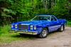 1978 Ford Ranchero (kenmojr) Tags: 2017 antique atlanticnationals auto car classic moncton newbrunswick show vehicle vintage centennialpark kenmo kenmorris carshow nikon d7000 nikkor 18105 1978 ford ranchero blue pickup truck