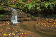 Butzerbachtal (Rob Christiaans  Nature and Wildlife) Tags: canon5dmkiii canonef1635f4is polarizer eifel germany autumn fall butzerbachtal waterfall cascade gitzo luminositymasks