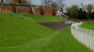 Chester City Walls View From Race Track