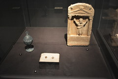 Chicago, IL - Grant Park - Field Museum - Ancient Mediterranean Cultures in Contact - Stele - Egypt, 3rd-7th c AD (jrozwado) Tags: northamerica usa illinois chicago museum fieldmuseum naturalhistory grantpark stele egyptian