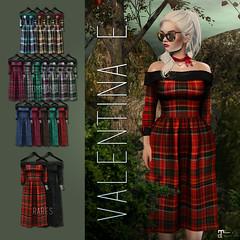 NEW! Valentina E. Joy Gacha @ Whimsical! (Valentina E./Evangeline Eames) Tags: valentinae mesh gacha secondlife fashion design couture whimsical maitreya lara christmas holidays festive