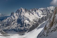 Glacier du Geant (benbrnch) Tags: chamonix montblanc aiguille verte les droites courtes alpes alpinism montain montagne snow ice glacier