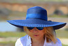 CB - Blue Hat & Shades (iseedre) Tags: woman beauty blond shades sunglasses outdoor hiking