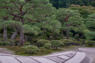 Ginkaku-ji zen garden