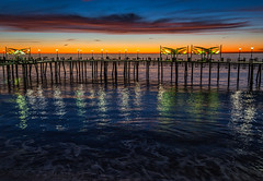 After sunset (el.merritt) Tags: december longexposure pacific redondobeach redondopier socal southbay sunset water beach emphoto41 reflectedlight wideangle