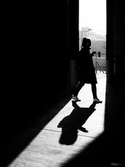 have a little break (René Mollet) Tags: shadow shadowland street streetphotography silhouette streetart streetphotographiebw sunrise blackandwhite bw zürich toniareal break urban urbanstreet urbanlife renémollet