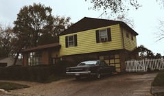 Back When Everything Was Better (Abandoned Illinois) Tags: retro house yellow vibe vibes memories tones soft throwback oldschool old vintage car nostalgic nostalgia 1970 70s
