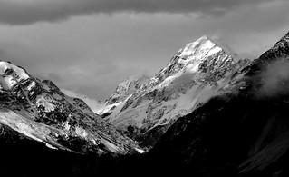 Aoraki / Mount Cook Mountain.  New Zealand