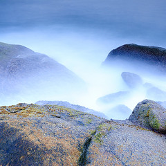DSC_0076 (pattana92392) Tags: seawave sea longexposure sunset coast water fineart stone