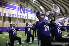 Ready to Salute Our Fans and #NU2018! (NUbands) Tags: b1gcats numb marching band northwestern university wildcat evanston chicago illinois music students education