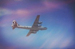 B-29 Superfortress dans le ciel de Fort Worth