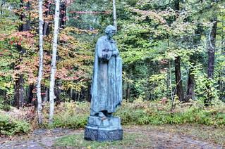 St John Statue at St. John's in the Wilderness Episcopal Church