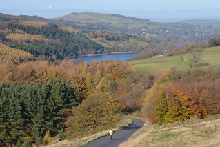Fernilee Reservoir, Peak District National Park, Derbyshire, England.