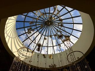 atrium window at the Shops at Kenilworth