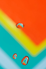 water droplet (Elisabeth Lys) Tags: colors nikon d7200 water waterdrop waterdroplet highspeedphotography hightspeedphoto highspeed macrophotography macro sigma 105mmf28 yellow green blue orange macromondays