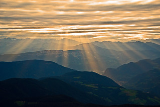 South Tyrol in rays
