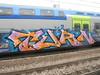 phono vision (en-ri) Tags: turn arancione indaco lilla nero train torino graffiti writing
